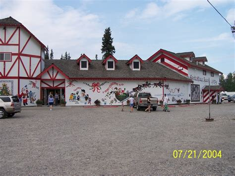 santa claus house north pole ak santa claus house in north pole alaska alaska pinterest
