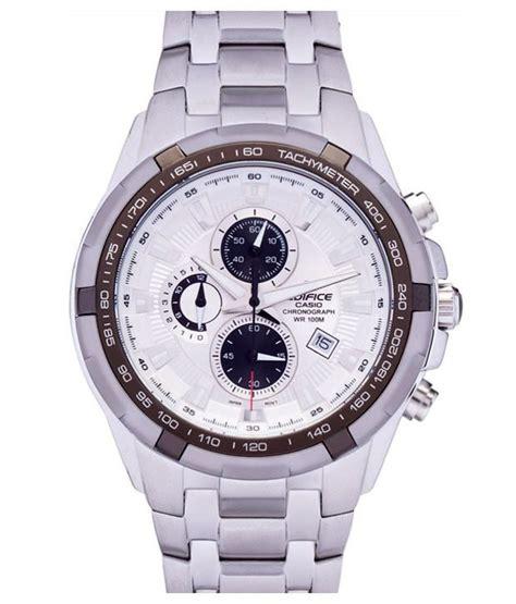 Casio Edifice Ef 259 Silver White 7 on casio edifice chronograph ef 539d 7avdf ed370