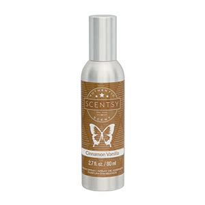 cinnamon room scent cinnamon vanilla room spray scentsy store