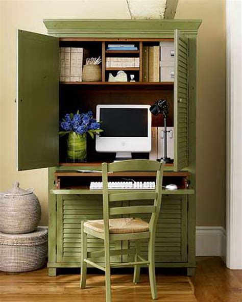 15 Diy Computer Desks Tutorials For Your Home Office 2017 Home Office Ideas For Small Space