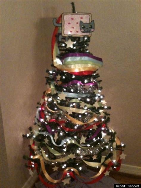 small christmas tree memes nyan cat tree photo huffpost