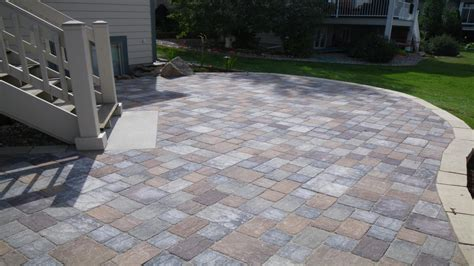 Landscaping Paver Ideas Square Concrete Paver Patio Patio Concrete Pavers