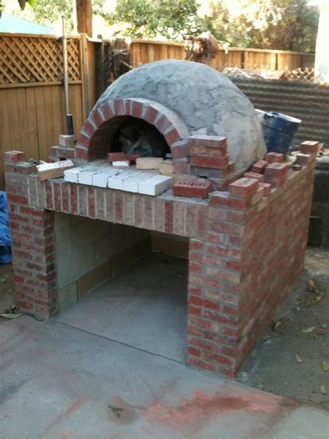 brick oven eclectic patio los angeles by alex
