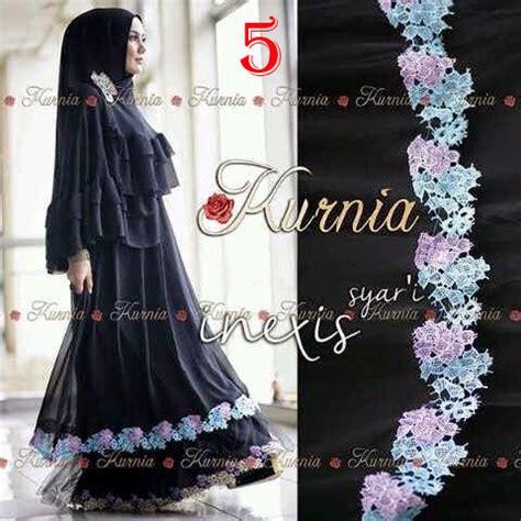 Pusat Grosir Baju Muslim Loria Syari Jersey inexis syari by kurnia 5 baju muslim gamis modern