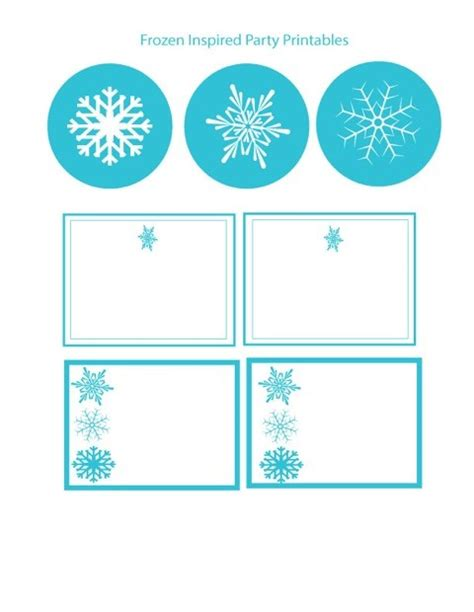 printable frozen templates party printables frozen and search on pinterest