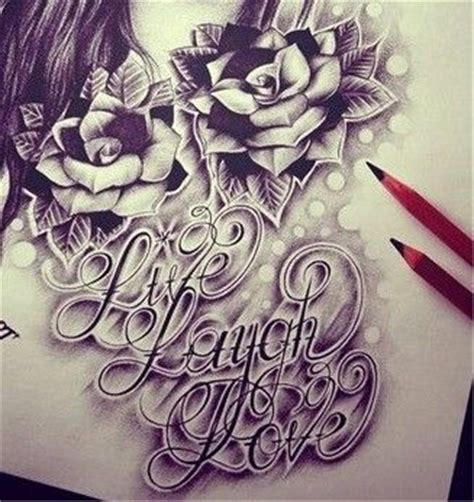 rose tattoo live live laugh with roses sketch designs