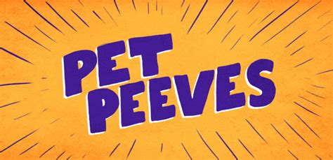 pet peeve pet peeves shop the winning designs threadless