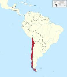 map of chile south america chile resorts map