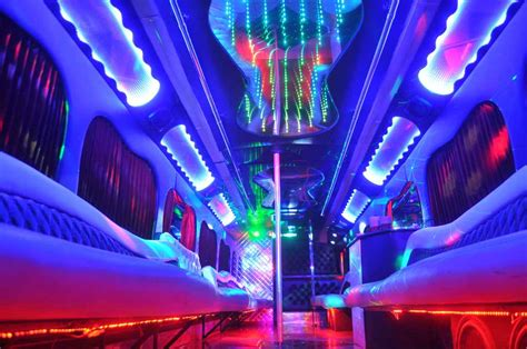 party bus logo file 45 passenger party bus interior photo low angle laser