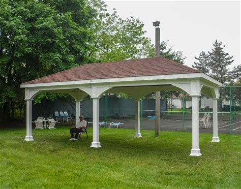 gazebo creations vinyl single roof ramadas ramadas by material