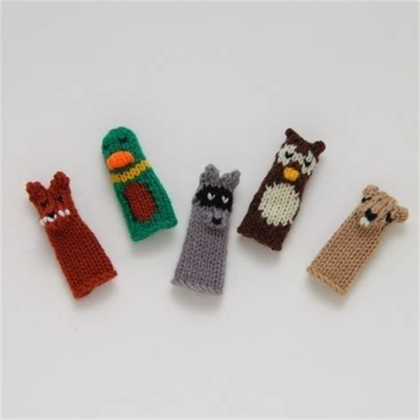knitted finger puppets patterns free 17 best images about creating on knitting