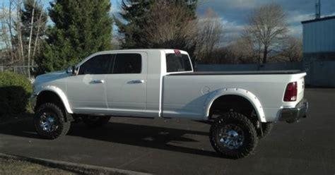 long bed mega cab pocket style flares on 10 dodge ram mega cab long bed