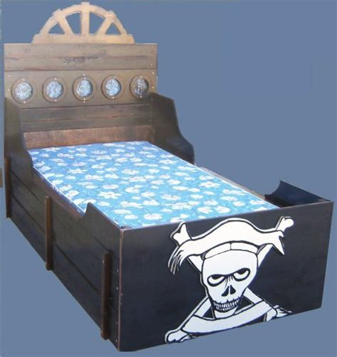 pirate ship twin bed new custom pirate ship twin rustic wooden boat bed w skull crossbones