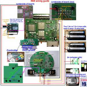 racketboy view topic complete n64 wiring diagram to make into a portable