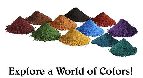 in the pigment powder concrete color powder neiltortorella
