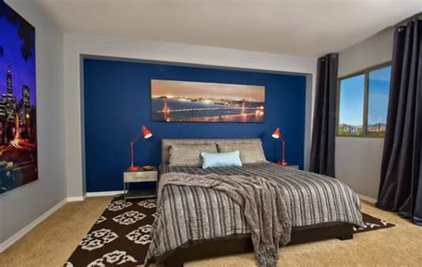 blue walls bedroom 15 blue bedrooms with soothing designs