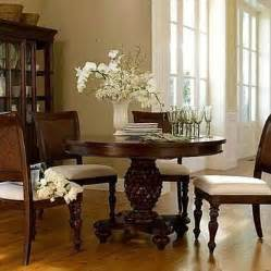 950 chris madden j c penneys pedestal dining table and 4