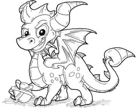 coloring pages of spyro the dragon dark spyro skylander free colouring pages
