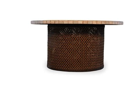 Pit Table by Lloyd Flanders Wicker Patio Pit Table 71099