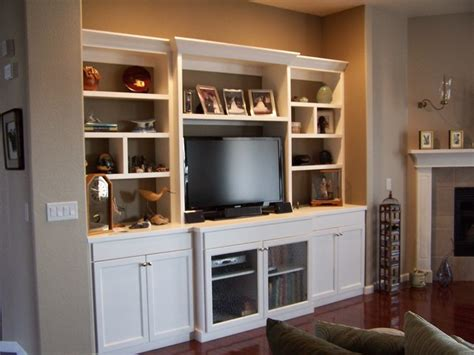 Living Room Entertainment Centers | white lacquer entertainment center modern living room