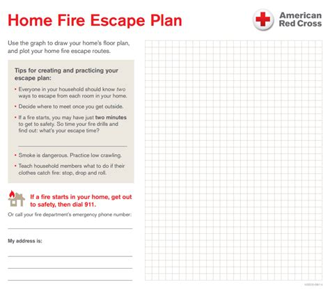 fire safety plan for home your home fire escape plan central south texas region