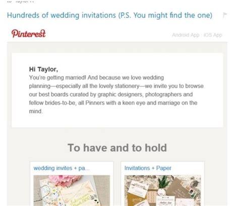 Email Wedding Invitation Subject Line