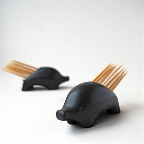 tooth pick holders pickurpine porcupine toothpick holder the green head