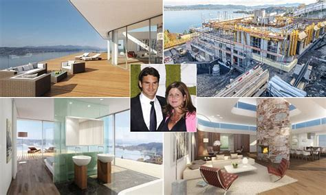 Roger Federer House by Roger Federer To Move Into 163 6 5m Glass Mansion On Banks Of