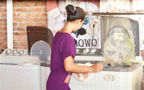 membuat jemuran laundry hujan sering guyur kuala pembuang bawa berkah bagi pelaku