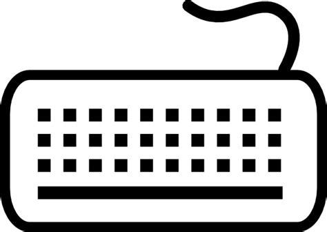 Clipart Keyboard keyboard clip at clker vector clip royalty free domain