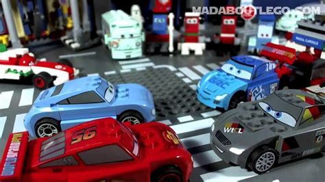 Car Minny Set 5in1 lego disney cars ultimate race set 9485 66409