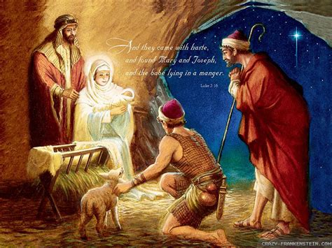 christmas wallpaper nativity scene christmas nativity quotes quotesgram