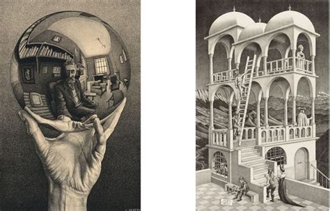 M C Original m c escher and his amazing world soon on view at dulwich