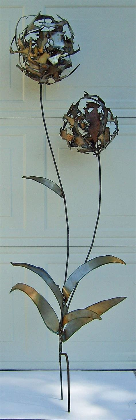 Scrap Metal Countertops by Metal Scrap Dandelions Scrap Steel Lawn Ornament By