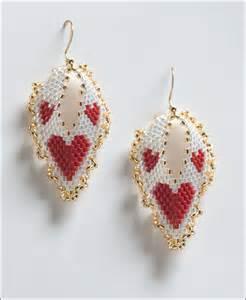 hearts russian leaf earrings sova enterprises