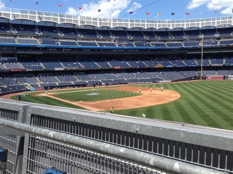 Section 205 Yankee Stadium by Yankee Stadium Section 210 New York Yankees Rateyourseats