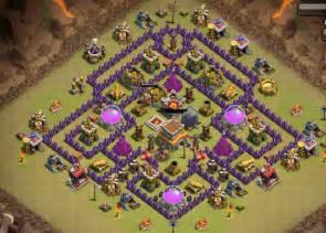 Clash of clans war base th 8