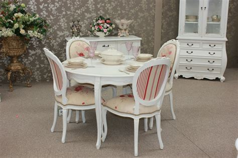 french provincial dining table set  chairs  table