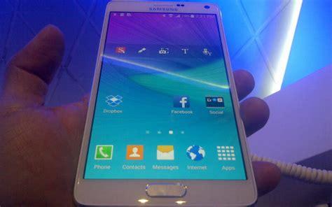 Samsung Note 4 Eks Sein Blom 4g alasan samsung tidak hadirkan 4g di note 4 okezone techno