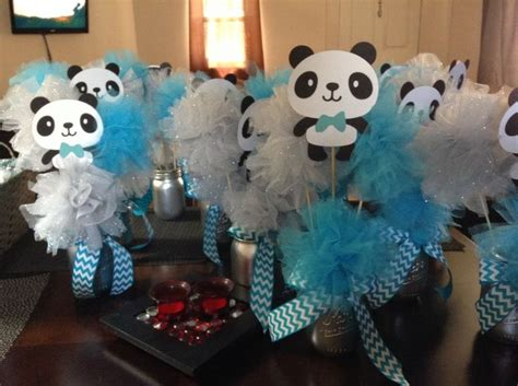 Panda Decorations by Panda Baby Shower Centerpieces Shower To Be Jars And Centerpiece Ideas