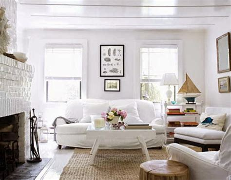 White Chairs For Living Room Cottage Living Room Furniture White