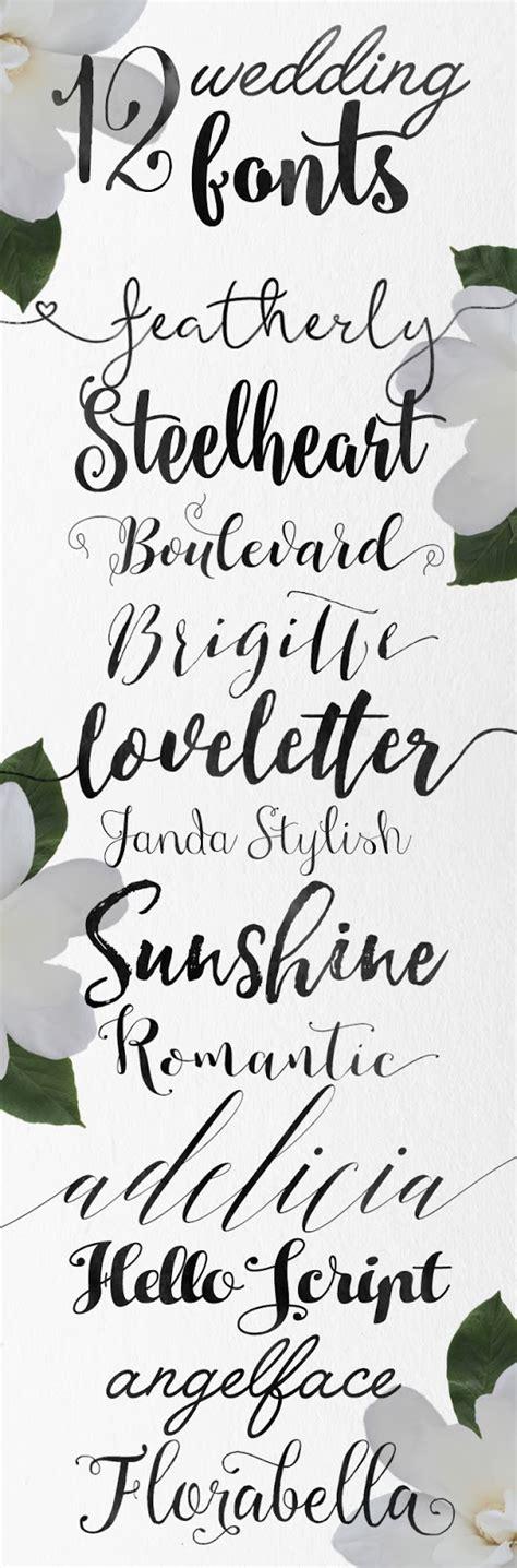 printable calligraphy fonts calligraphy wedding fonts skyla design