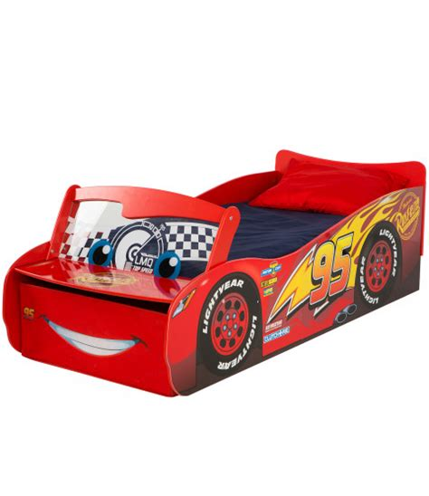 Disney Cars Lightning Mcqueen Feature Toddler Bed With Cars Lightning Mcqueen Bed