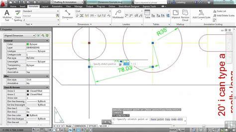 youtube tutorial autocad 2013 autocad 2013 tutorial advanced dimension operations part