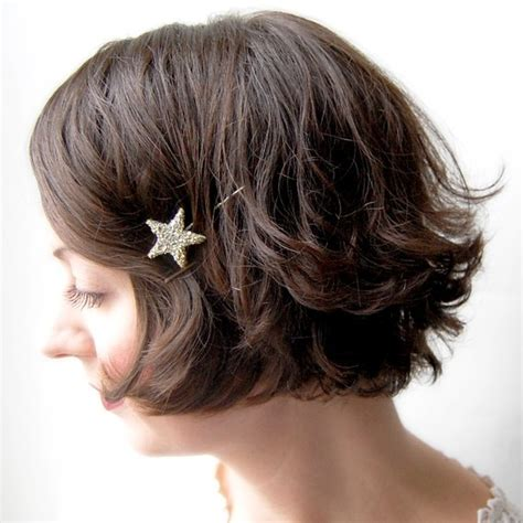 short haircuts styed with barrettes 5 cute hair accessories for short hair aelida