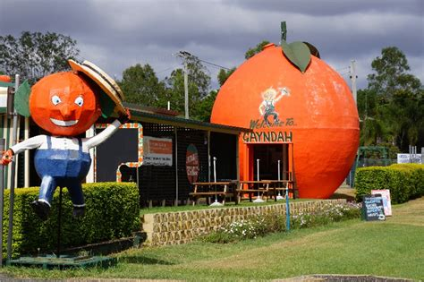 Australia Post Address Finder Big Orange Caf 233 Opposite 25 Burnett Hwy Gayndah Qld 187 Poi Australia