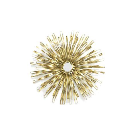 gold sunburst wall decor home decorators collection golden sunburst gold metal wall
