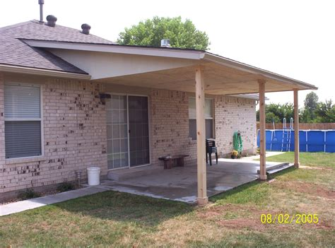 Patio Addition by M M Construction Patio Covers Gabled Shed Flat Roof