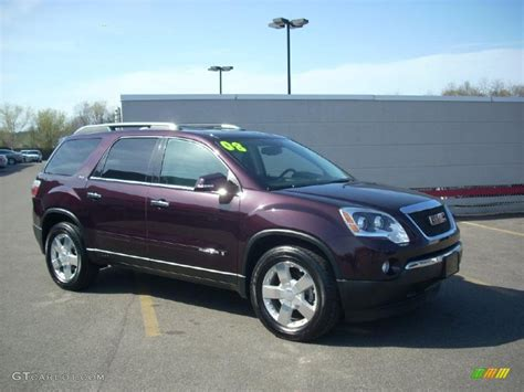 2008 crimson metallic gmc acadia slt awd 28143942 gtcarlot car color galleries