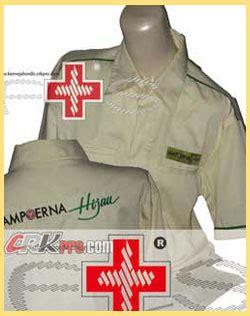 Kemeja Batik Emblem kemeja wanita baju wanita murah